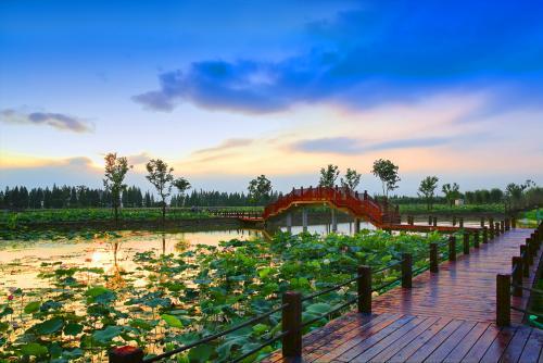 南京市高淳区国际慢城.固城湖生太景区
