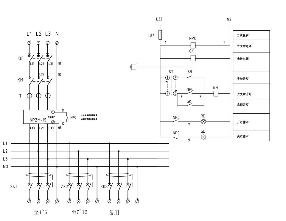 NPZM-15智能照明稳压调控装置